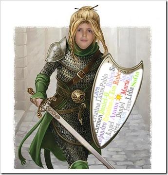 Ana, a guerreira