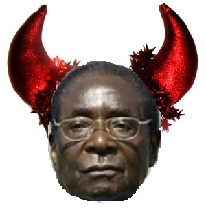 Zimbabwean Chief Clown, Robert Mugabe