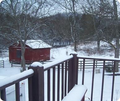 snow december
