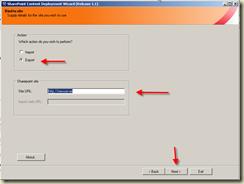 2 - Export - Nombre Server