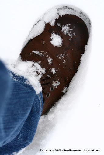 Mijn lederen schoenen met Maverick jeans
