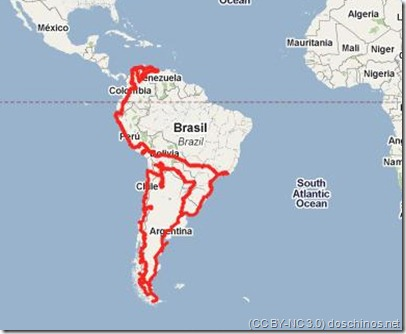 south america ihgh-level route