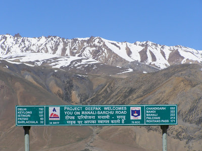 Near the state border of Himachal Pradesh & Jammu and Kashmir