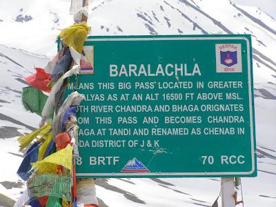 Baralacha La marker