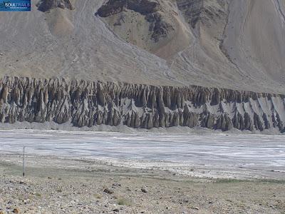 Landscape enroute Keylong