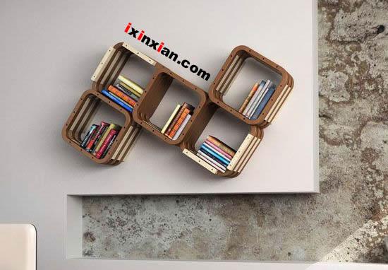 个性组合书架-爱新鲜