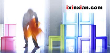 彩虹椅,给家增添色彩-爱新鲜
