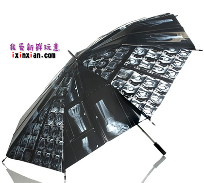 另类X光片雨伞(X-Ray Umbrella)-爱新鲜