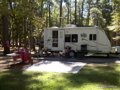 Site 26 at Cagle Recreation Area