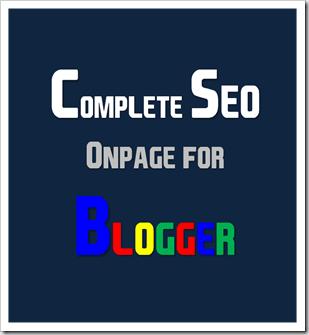 สอนทำบล็อก สอนปรับแต่ง SEO ของ Blogger