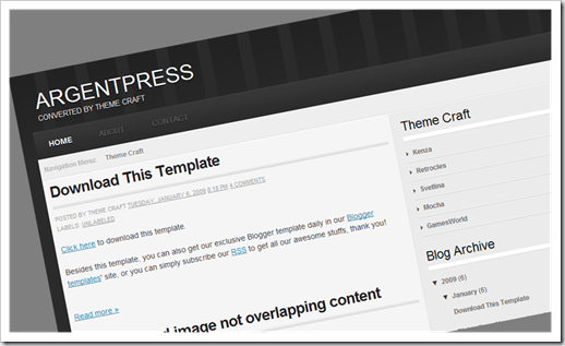 Blogger Template สอนปรับแต่ง blogger Template