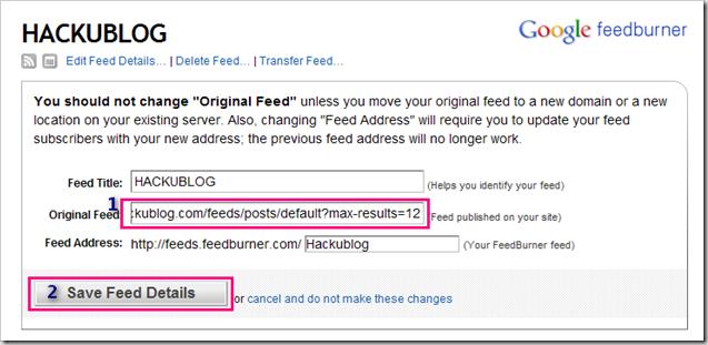 ทำ blog แต่งบล็อก สร้างบล็อก feed กับ Feedburner
