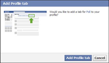 วิธีสร้าง Poll บน Facebook บล็อก blog blospot