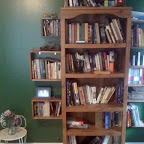 Bookcas Tree (homemade shelf boxes)