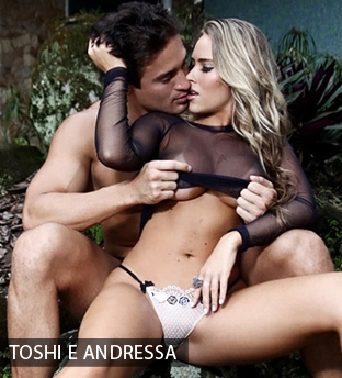 Andressa e Toshi do Hipertensão