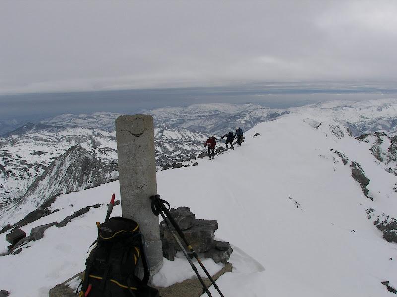 la cumbre Peña Ubiña