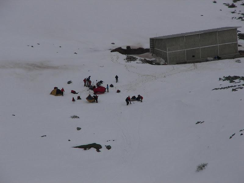 acampando en Meicin