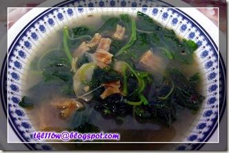 干贝苋菜汤
