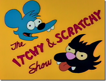 itchy and scratchy
