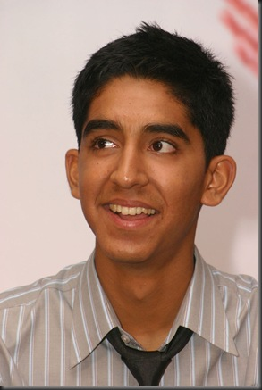 NEW DELHI,21 JAN 2009-ACTOR DEV PATEL AT A PRESS-MEET FOR THE FILM ''SLUMDOG MILLIONAIRE''  IN NEW DELHI ON WEDNESDAY-IANS PHOTO BY AMLAN PALIWAL
