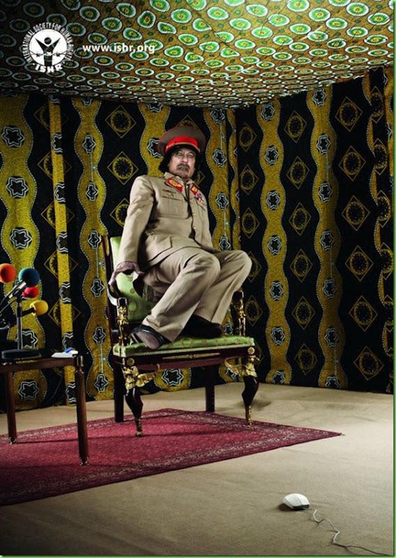 gaddafi mouse