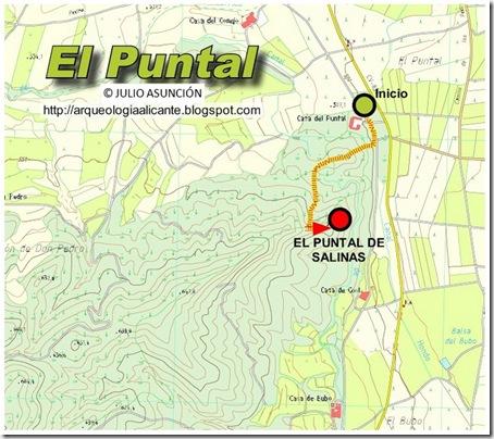MAPA PUNTAL DE SALINAS