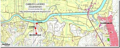 Mapa Cabezo Lucero