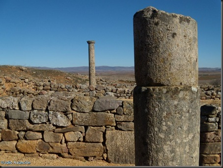 10 Columnas de patio porticado - Numancia