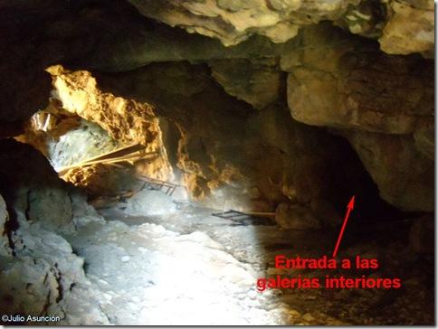 Vestíbulo de la Cova Fosca - Vall d´Ebo