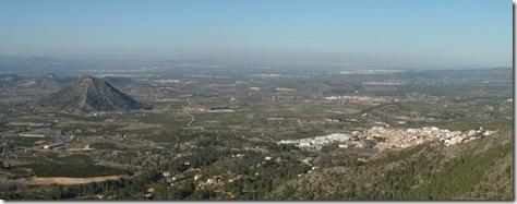 Vista desde la Penya Blanca - Valencia