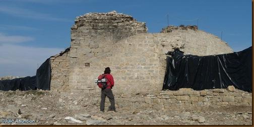 Torreón principal del Castillo de Irulegi - Valle de Aranguren