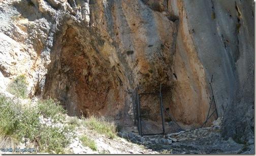 Abrigo con pinturas macroesquemáticas - Barranco de Famorca - Alicante