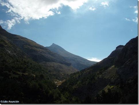 vista desde el cruce del bisaurin