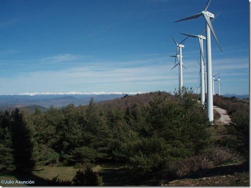 Panorámica del Pirineo - Sierra de Izco