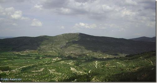 Panorámica desde la Cueva de los Pilares - Agres