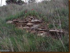 Restos de muro - Castro de Sansol - Muru-Artráin