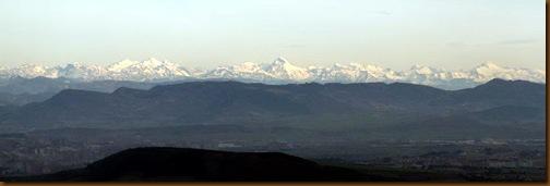 El Pirineo desde el santuario prehistórico