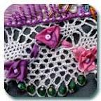 farago rose on lace