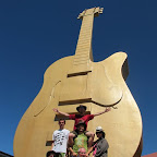 The big golden guitar..