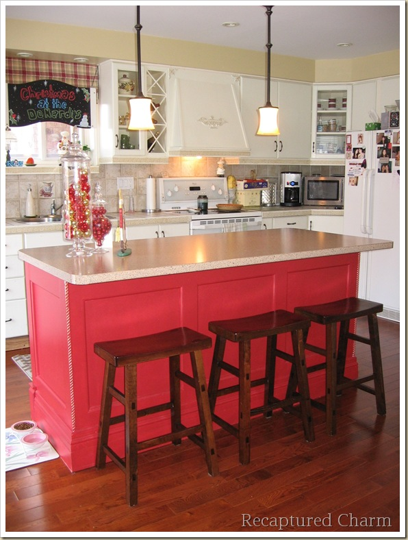 Kitchen Island Finishing Ideas