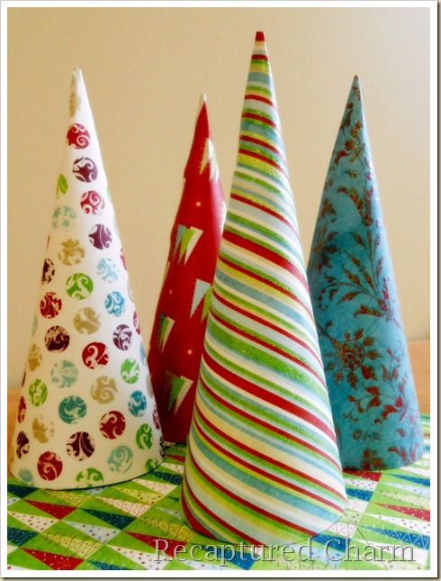 Paper Cone Party Favor Place Cards 011a