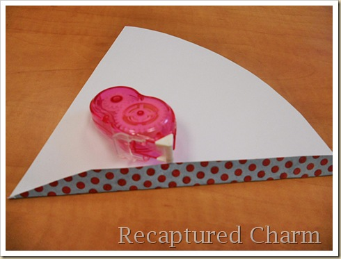 Paper Cone Party Favor Place Cards 017a