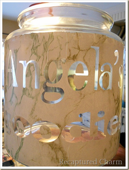 Etched Cookie Jar 017a