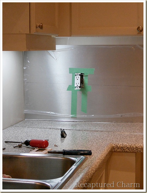 stainless steel backsplash 025a