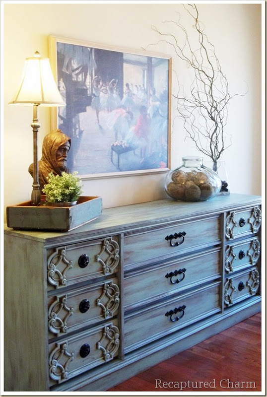 turquoise dresser 067a