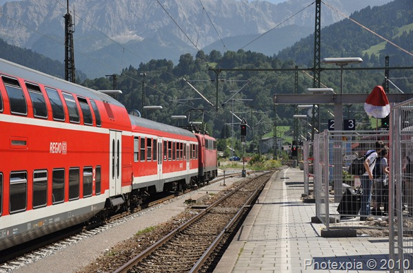 Garmisch Train Station