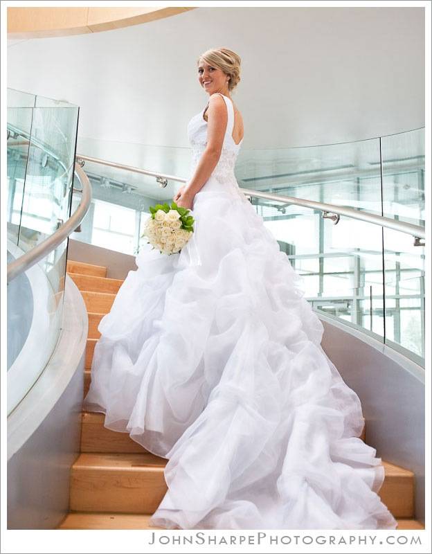 Modern bridals in BYU Joseph F Smith building