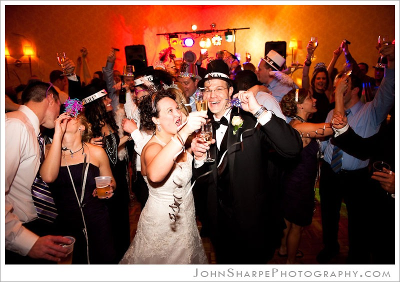 Minneapolis New Year's Eve  Wedding