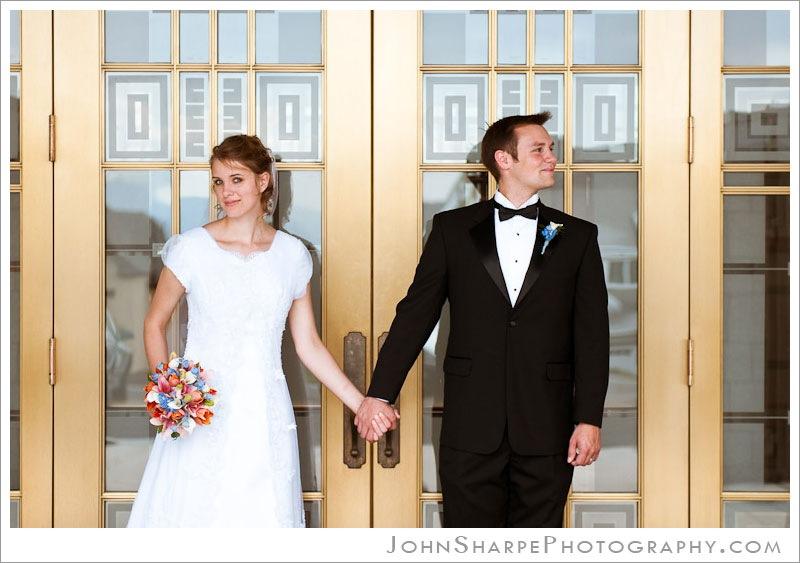 Draper Utah Temple Wedding Photography