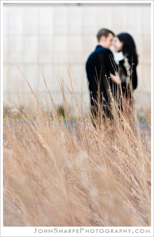 Artistic wedding engagement photography in Minnesota
